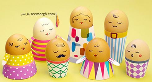 تزیین تخم مرغ هفت سین برای کودکان - عکس شماره 6
