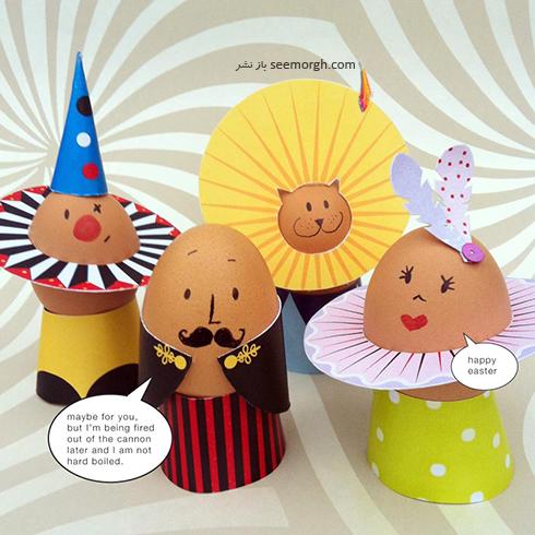 تزیین تخم مرغ هفت سین برای کودکان - عکس شماره 5