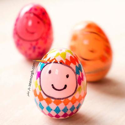 تزیین تخم مرغ هفت سین برای کودکان - عکس شماره 4