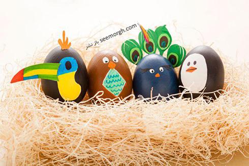 تزیین تخم مرغ هفت سین برای کودکان - عکس شماره 16