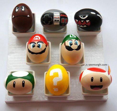 تزیین تخم مرغ هفت سین برای کودکان - عکس شماره 18