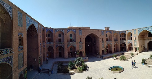 مدرسه و کاروانسرای گنجعلی خان کرمان