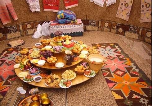 غذاهای سنتی در نوروز قزاقستان