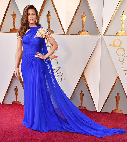 بدترین مدل لباس در مراسم اسکار 2018 Oscar - جنیفر گارنر Jennifer Garner