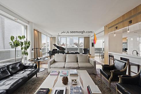 دکوراسیون داخلی پنت هاوس 8 میلیارد دلاری جاستین تیمبرلیک Justin Timberlake - عکس شماره 9