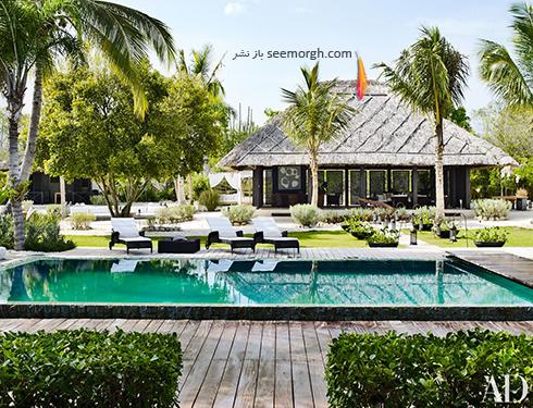 دکوراسیون داخلی ویلای ساحلی مارک آنتونی Marc Anthony - عکس شماره 11