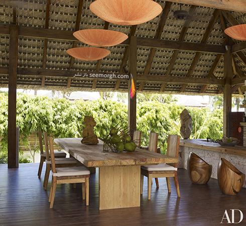 دکوراسیون داخلی ویلای ساحلی مارک آنتونی Marc Anthony - عکس شماره 6
