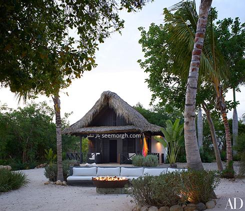 دکوراسیون داخلی ویلای ساحلی مارک آنتونی Marc Anthony - عکس شماره 4