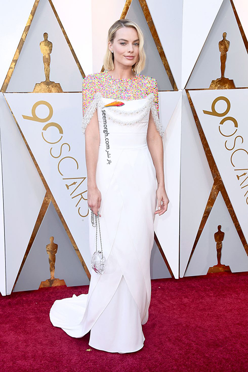 بهترین مدل لباس در مراسم اسکار Oscar 2018 - مارگوت رابی Margot Robbie