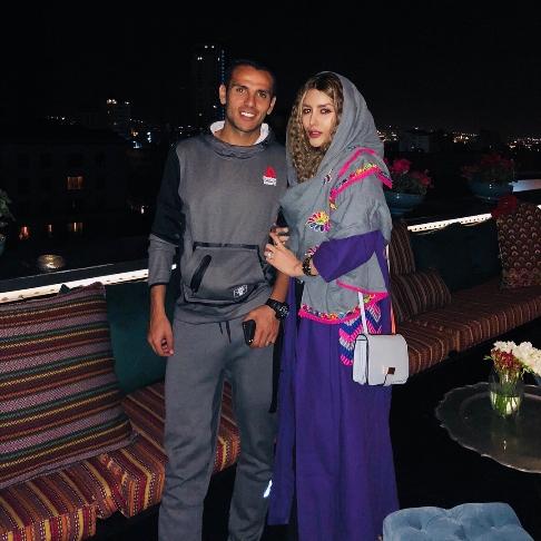 یعقوب کریمی و همسرش نیکی محرابی