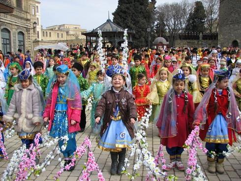 مراسم عید نوروز در جمهوری آذربایجان