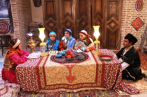 سفره نوروز در جمهوری آذربایجان