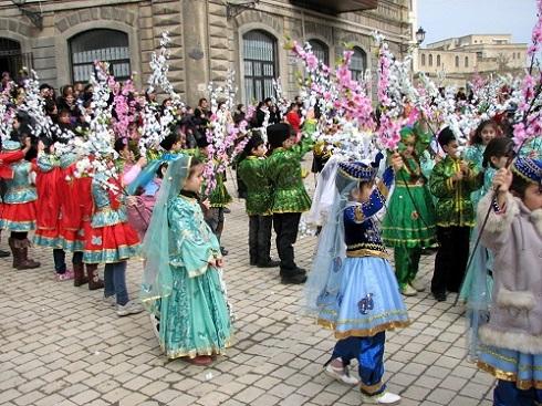 جشن نوروز در جمهوری آذربایجان