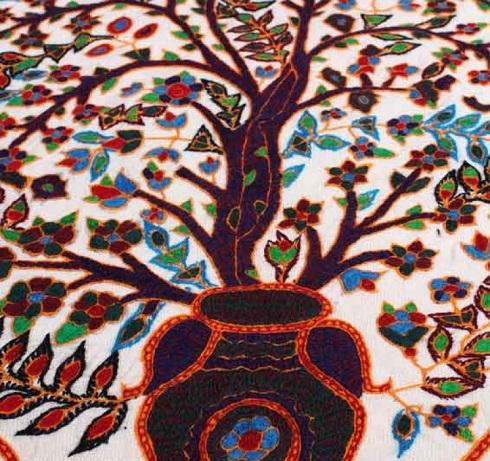 درخت زندگی,پته دوزی کرمان