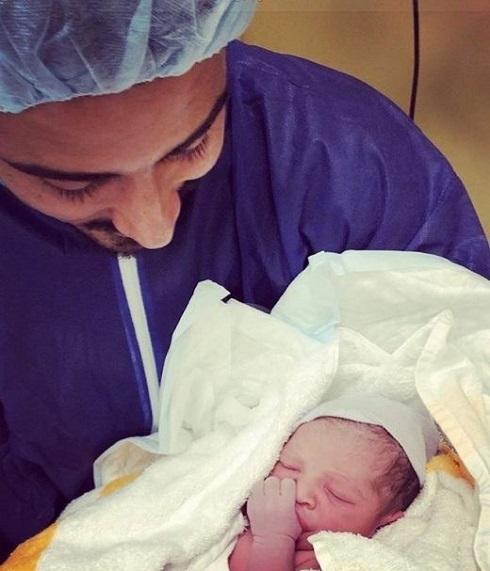 به دنیا آمدن پسر رضا قوچان نژاد و سروین بیات در هلند