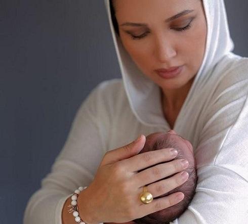 به دنیا آمدن پسر روناک یونسی و محسن میری در امریکا