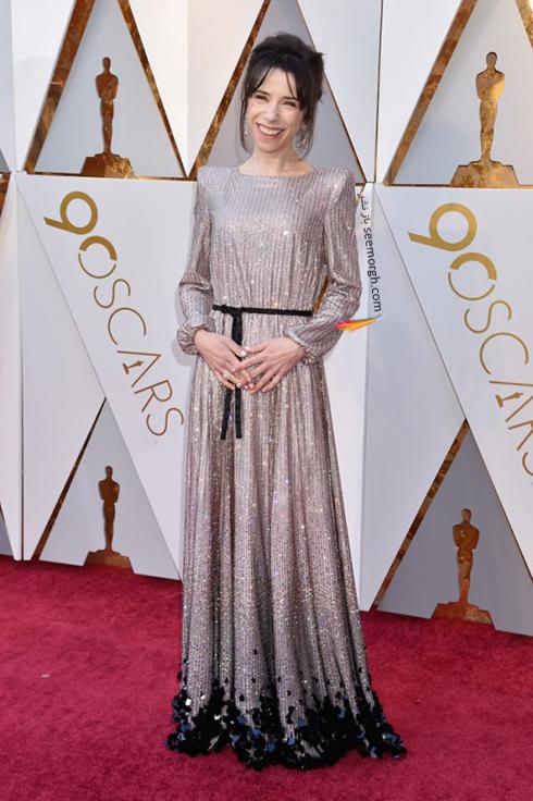 بهترین مدل لباس در مراسم اسکار Oscar 2018 - سالی هاوکینز Sally Hawkins