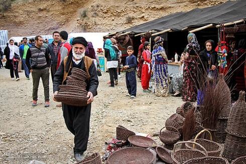 روستای ساتیاری در تدارک عید نوروز