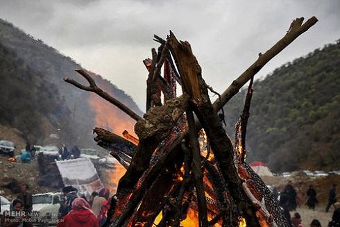 برگزاری آیین های سنتی عید نوروز در روستای ساتیاری 2