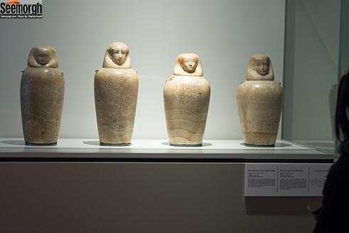 کوزه های امعاء و احشاء متعلق به مصر باستان