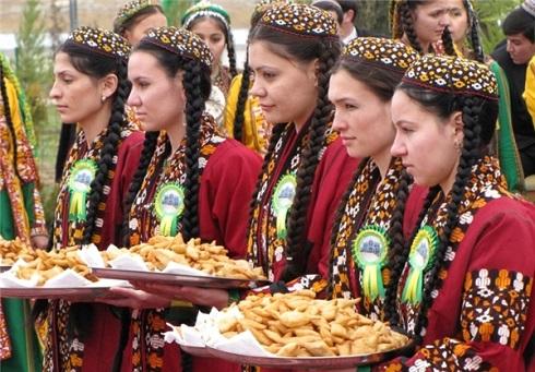 غذاهای نوروزی در ترکمنستان