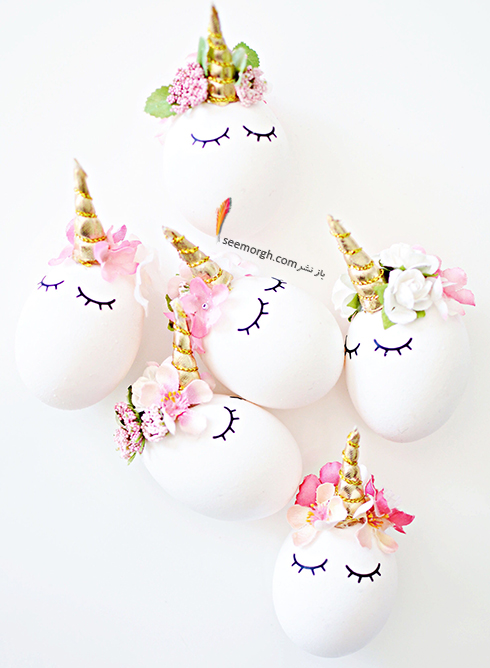 تزیین تخم مرغ هفت سین با ایده های فانتزی و جذاب - مدل شماره 1