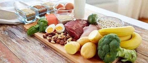 ویتامین ها و منابع مختلف آنها در مواد غذایی