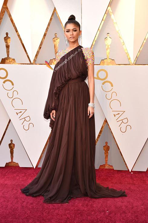بهترین مدل لباس در مراسم اسکار Oscar 2018 - زندیا Zendaya