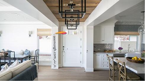 یک سقف غیر جذاب را با پنل بپوشانید