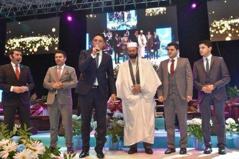 سعید طوسی در مراسم شب معراج ترکیه