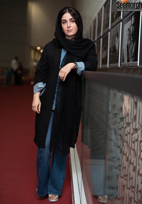 مدل مانتو بازیگران زن در جشنواره جهانی فیلم فجر - افسانه پاکرو