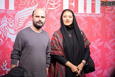 علی مصفا و  شبنم مقدم در جشنواره جهانی فجر