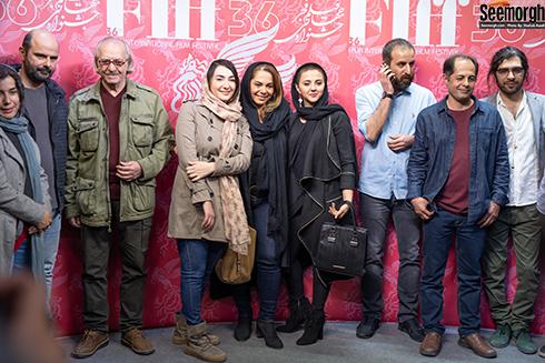 حضور هنرمندان در جشنواره جهانی فیلم فجر