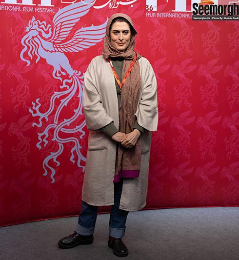 مدل مانتو بازیگران زن در جشنواره جهانی فیلم فجر - بهناز جعفری
