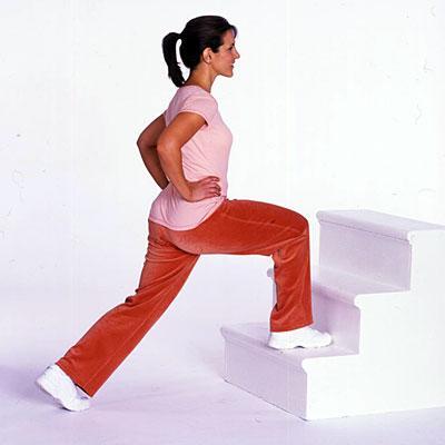 خیز روی پله