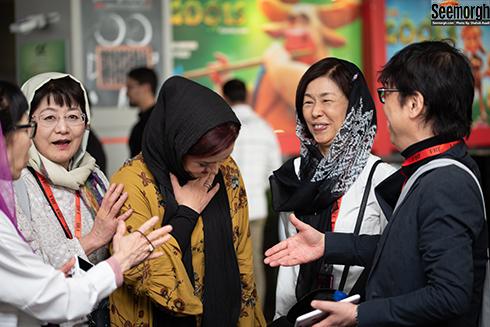 دست ندادن مریلا زارعی با فیلمساز چینی در حشنواره جهانی فجر