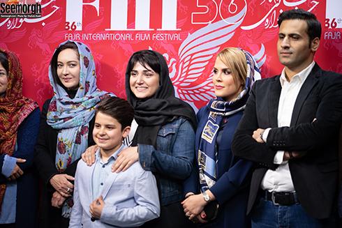 نیکی کریمی و باران کوثری در جشنواره جهانی فجر
