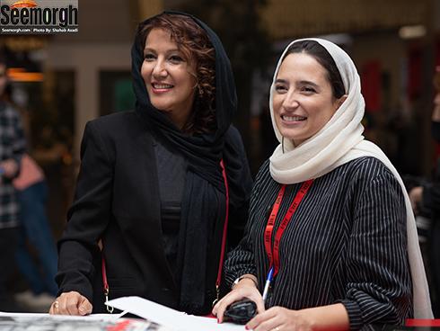 پانته آ بهرام و نگار جواهریان در جشنواره جهانی فجر