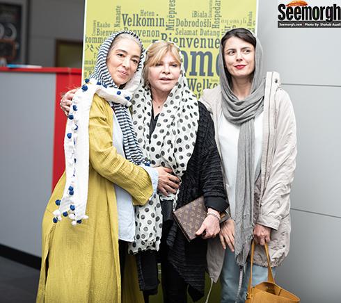 لیلا حاتمی، زری خوشکام و پانته آ پناهی ها در جشنواره جهانی فجر