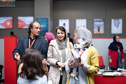 پانته آ پناهی ها، لیلا حاتمی و سیف الله صمدیان در جشنواره جهانی فجر