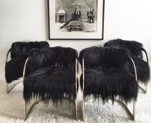 ساخت صندلی با مو