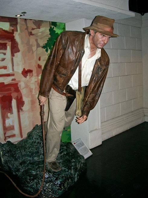 تندیس هریسون فورد در موزه مادام توسو هنگ کنگ