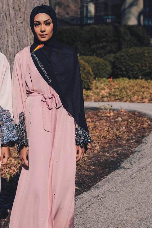 مدل مانتو جدید 97 در دنیای فشن اسلامی برای بهار - مدل شماره 9