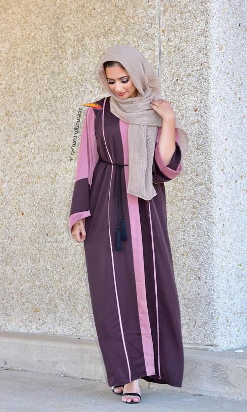 مدل مانتو جدید 97 در دنیای فشن اسلامی برای بهار - مدل شماره 7