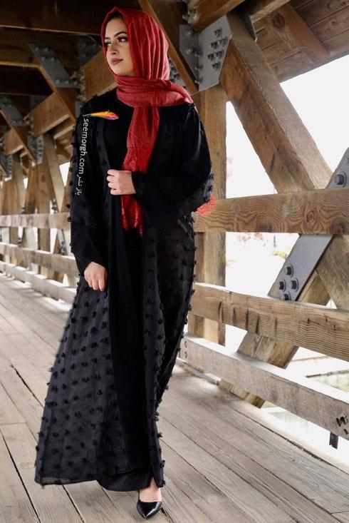 مدل مانتو جدید 97 در دنیای فشن اسلامی برای بهار - مدل شماره 5