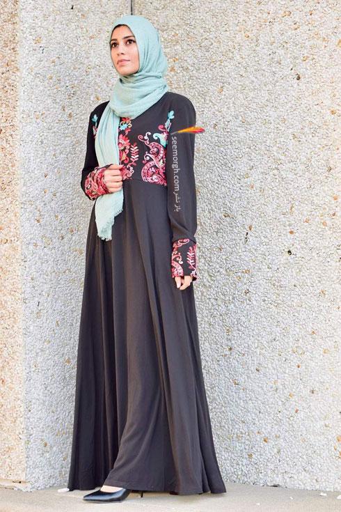 مدل مانتو جدید 97 در دنیای فشن اسلامی برای بهار - مدل شماره 2