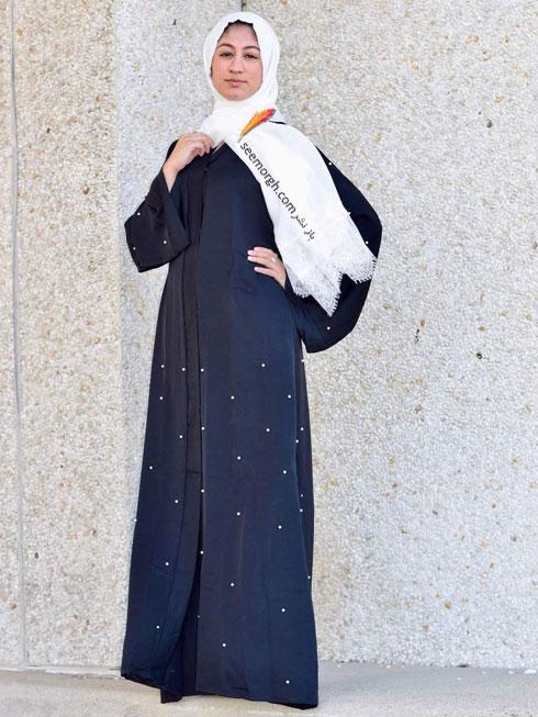 مدل مانتو جدید 97 در دنیای فشن اسلامی برای بهار - مدل شماره 1