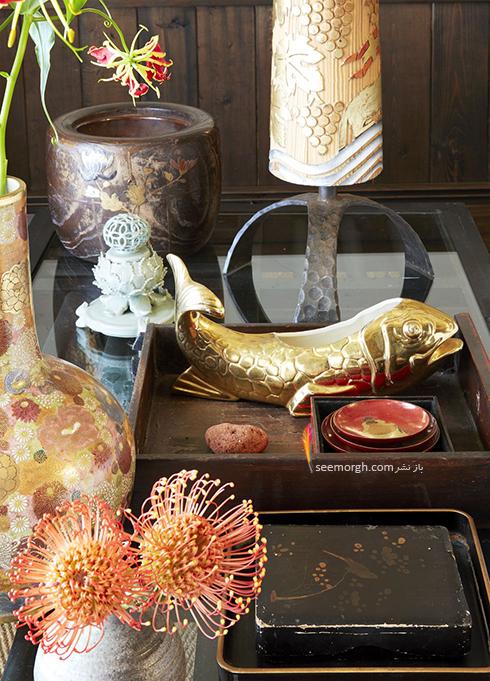 دکوراسیون داخلی ویلایی در نیویورک به سبک ژاپن - عکس شماره 1