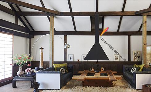 دکوراسیون داخلی ویلایی در نیویورک به سبک ژاپن - عکس شماره 9