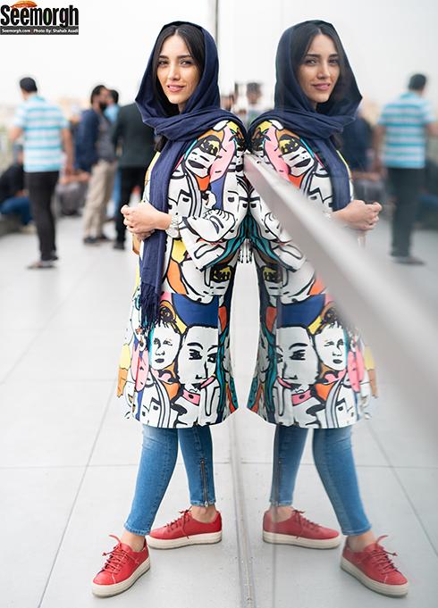مدل مانتو بازیگران زن در جشنواره جهانی فیلم فجر - خاطره اسدی